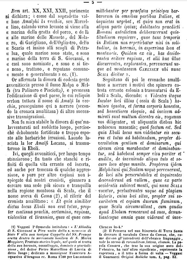 Camera, su S. Giovanni , p. 5