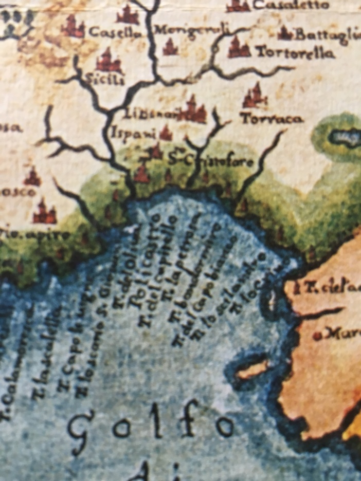 Sapri Cartina Geografica.La Localita Petrosa E L Omonima Torre A Villammare Sapri Roui Nata
