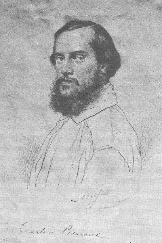 ritratto di Pisacane di Domenico Morelli
